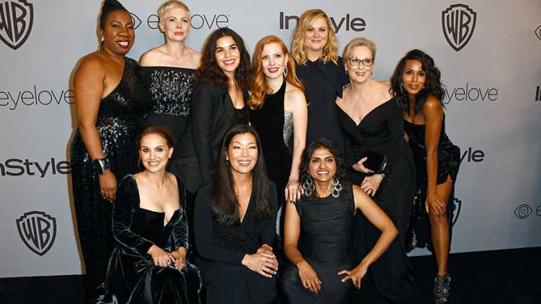 Golden Globes 2018 : Les acteurs étaient en noir