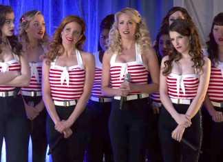 Les Bellas de Barden dans Pitch Perfect 3
